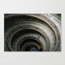The Climb of a Lifetime Canvas Print