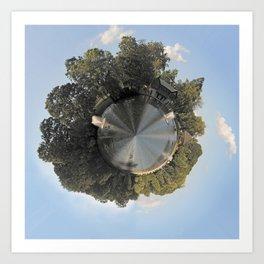 Slater Planet Art Print