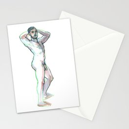 JON, Nude Male by Frank-Joseph Stationery Cards