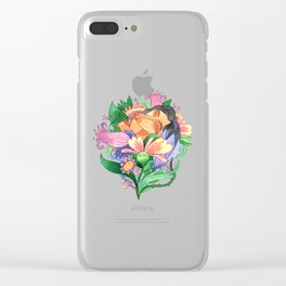 Sink into fragrance Clear iPhone Case