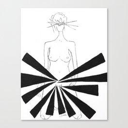 Vag by riendo Canvas Print