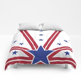 Rays of Freedom Comforters