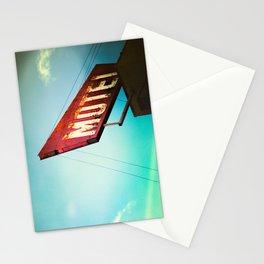 motel schmotel Stationery Cards