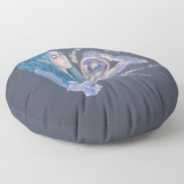 Welsh Witchy Vibes Floor Pillow
