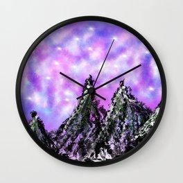 Mountain Luminous Wall Clock