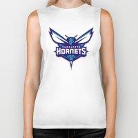 nba Biker Tanks featuring NBA - Hornets by Katieb1013