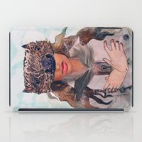 beaver iPad Cases featuring Beaver Secrets by Aly Hoffman