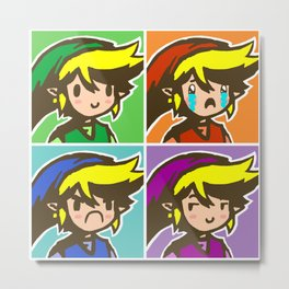 Four Swords Metal Print