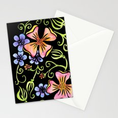 Electric Flora Stationery Cards