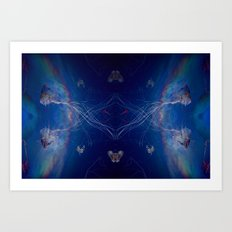 I know about you Art Print