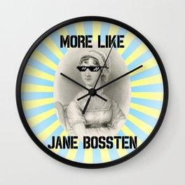 More Like Jane BOSSTEN Wall Clock