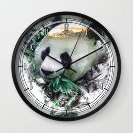 Panda - Spirit Animal Wall Clock