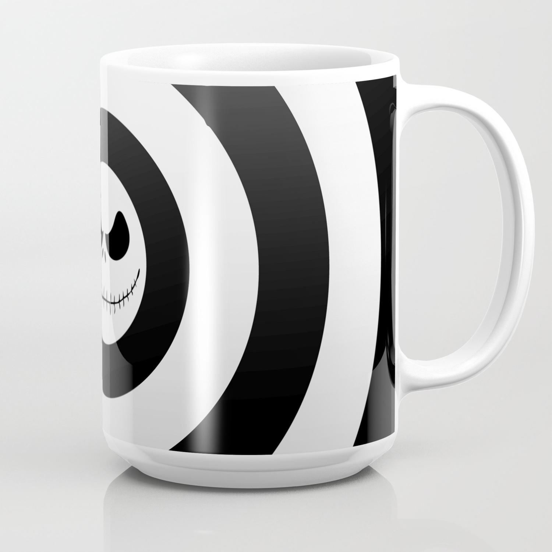 Nightmare Before Christmas Coffee Mug.Jack Skellington Nightmare Before Christmas Coffee Mug