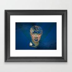 Wavve Dreem Framed Art Print