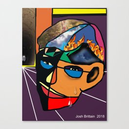 Facets Of Man Canvas Print