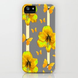 "AMARYLLIS ""  LOVE OF BUTTERFLIES""   DECO iPhone Case"