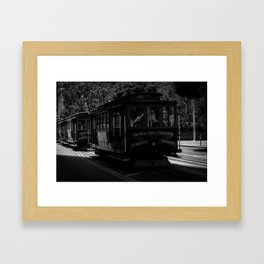San Francisco Trolley  Framed Art Print