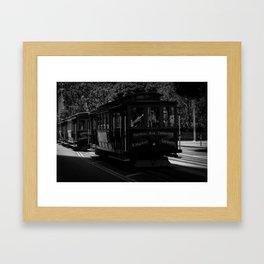 San Francisco Trolley  Framed Art Print