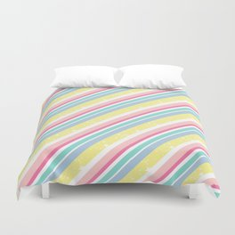Party stripes Duvet Cover