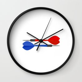 Dart Master Fun Darts Lover Wall Clock