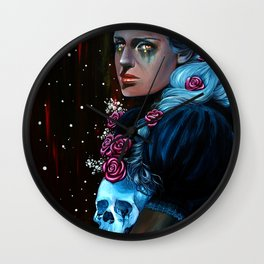 Loneliness in the Arms of a Stranger Wall Clock