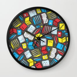 Study Time Wall Clock