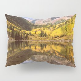mountains. Mirror Lake Pillow Sham