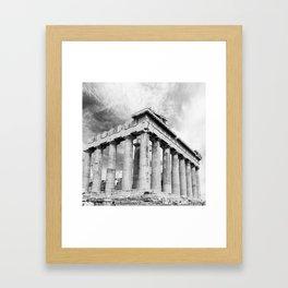 Mystical Parthenon Framed Art Print