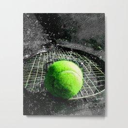 Tennis art print work 11 Metal Print