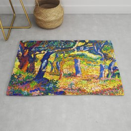 Henri Edmond Cross Clearing in Provence Rug