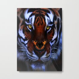 Centre of Attention Metal Print
