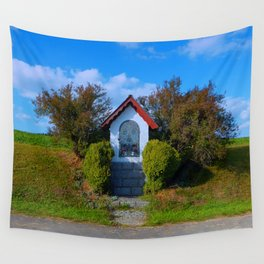 Wayside shrine in summertime II | architectural photography Wall Tapestry