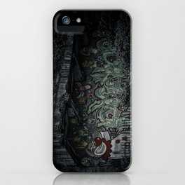 Angry Clown iPhone Case