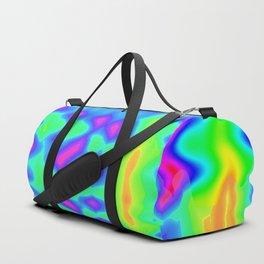 Neon Splash Duffle Bag