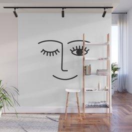 Wink Wall Mural