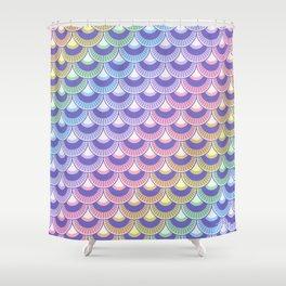 Koi Nobori Niji Pastel Shower Curtain