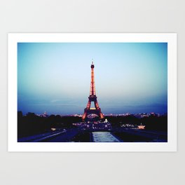 Tour d'Eiffel Art Print