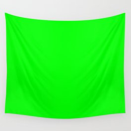 Neon Green Wall Tapestry