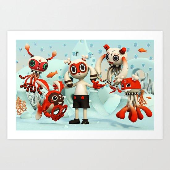 Walter's Imaginarium Art Print