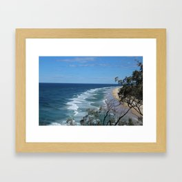 75 Mile Bech Framed Art Print