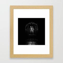 Emptiness Framed Art Print