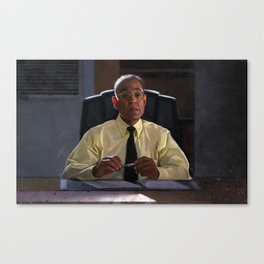 Gus Fring In The Office At Los Pollos Hermanos - Better Call Saul Canvas Print