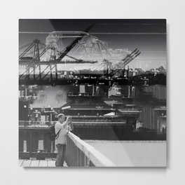Focused Distraction Metal Print