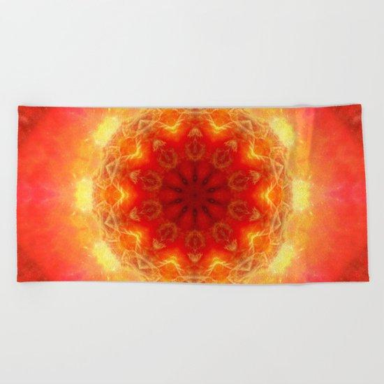 Energy within Beach Towel