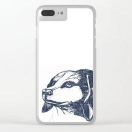 Beagle Training Clear iPhone Case