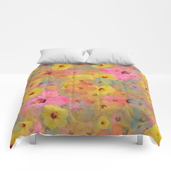 Floral Delight Comforters