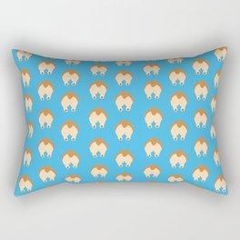 Corgi Butts Rectangular Pillow