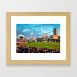 OneOk Stadium - Tulsa Drillers Stadium View Framed Art Print