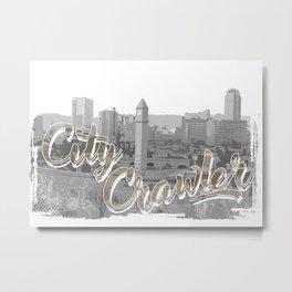City Crawler Metal Print