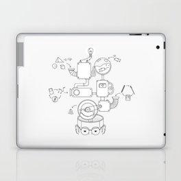 How the creative brain works? Laptop & iPad Skin